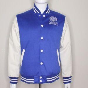 Mens Franklin & Marshall Baseball Jacket X-Large